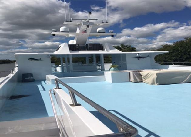 Deck 2016 CUSTOM 106 Houseboat Houseboat 1935579