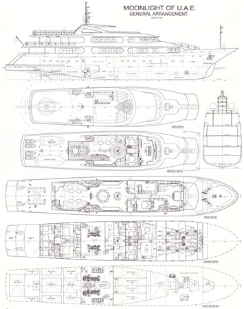 LAYOUT 1984 BENETTI  Displacement 1935985