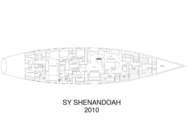 General Arrangement Plan 1902 Townsend & Downey  Schooner 2089467