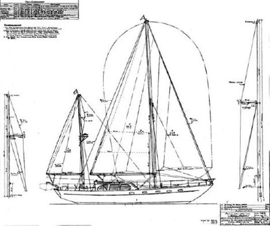 1964 ALDEN YACHTS Alden 47 / Ketch Classic Yacht 1953509