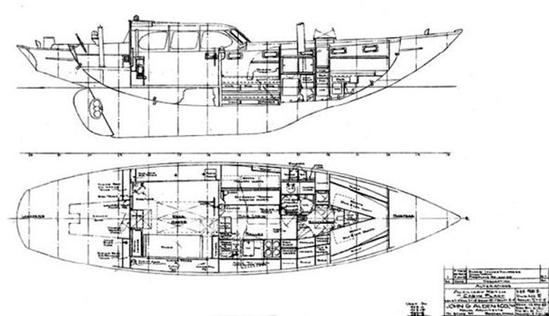 1964 ALDEN YACHTS Alden 47 / Ketch Classic Yacht 1953510