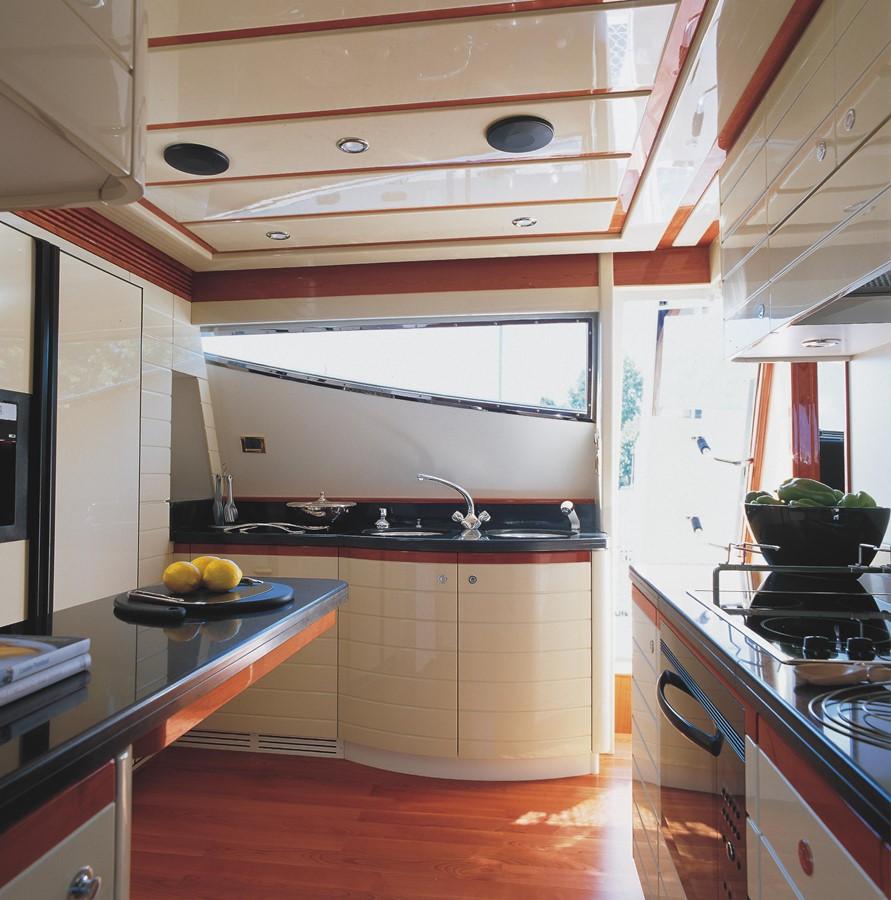Galley 2007 FERRETTI YACHTS Ferretti 881 HT Motor Yacht 1978986