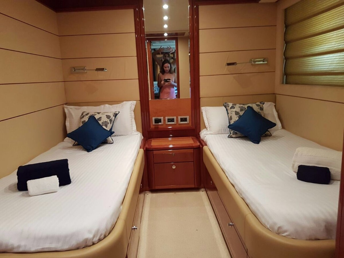 Guest Cabin  2007 FERRETTI YACHTS Ferretti 881 HT Motor Yacht 2005362