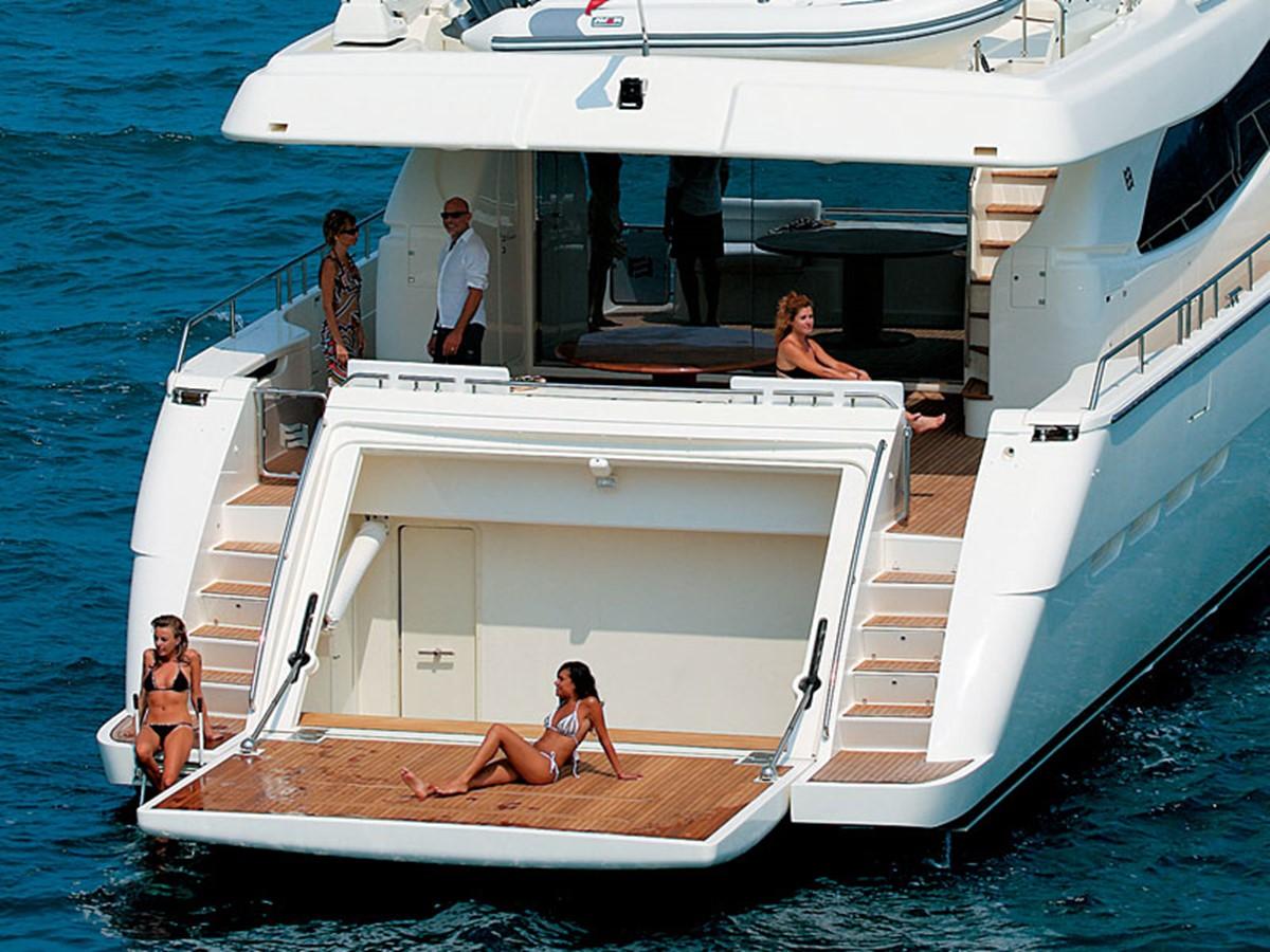 Swim Platform 2007 FERRETTI YACHTS Ferretti 881 HT Motor Yacht 2005365