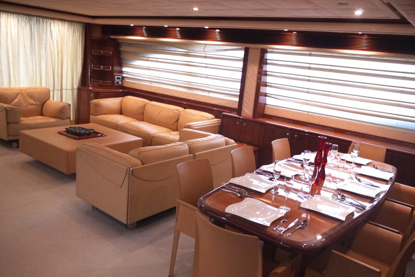 Saloon 2007 FERRETTI YACHTS Ferretti 881 HT Motor Yacht 2005367