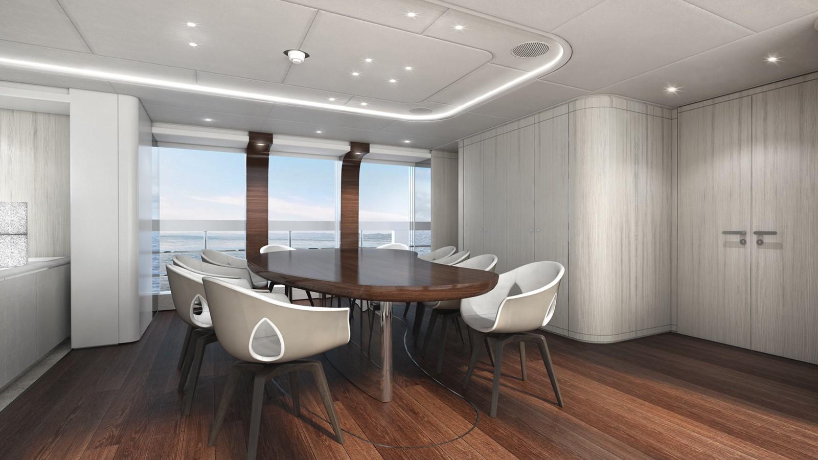 Main saloon dining 2020 HEESEN YACHTS  Motor Yacht 2530866