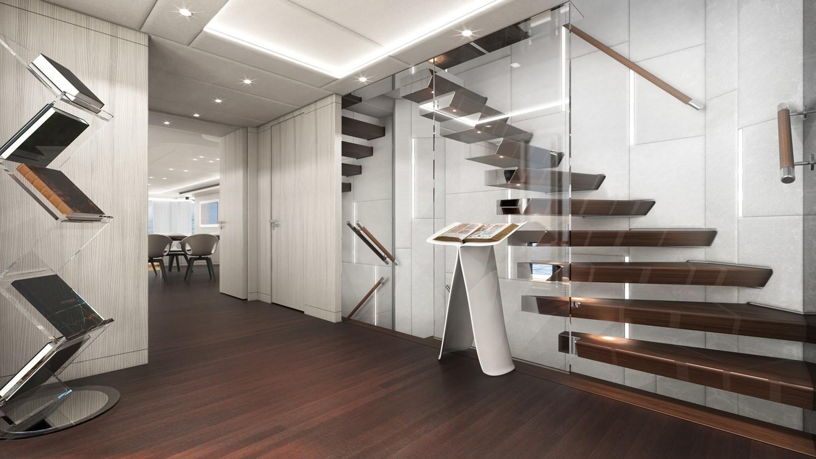 Main deck stairs 2020 HEESEN YACHTS  Motor Yacht 2530872