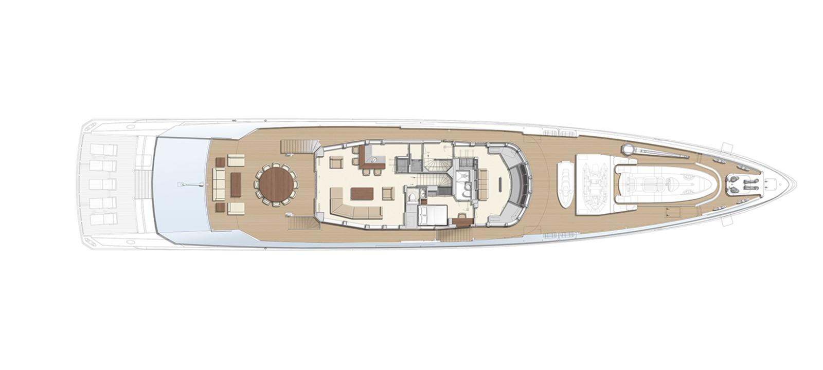 GA Wheelhouse deck 2020 HEESEN YACHTS  Motor Yacht 2530877
