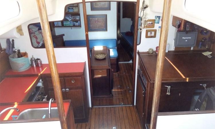 1972 TYLER BOAT COMPANY Gallant 53 Cruising Sailboat 2483238