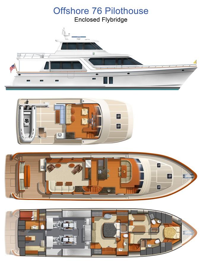 2020 OFFSHORE YACHTS 76/80 Motoryacht Motor Yacht 1961780