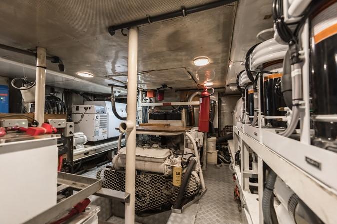 Maxi 88 Taronga engine room 1991 CIM SHIPYARD  Cruising Sailboat 1963772
