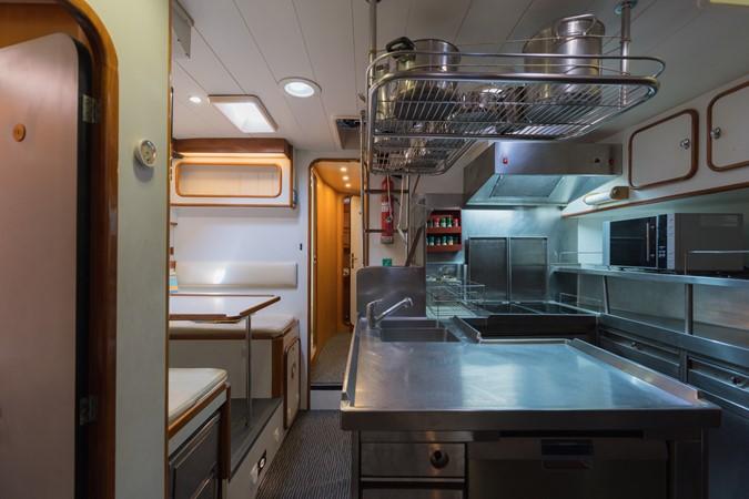 Maxi 88 Taronga kitchen 1991 CIM SHIPYARD  Cruising Sailboat 1963775