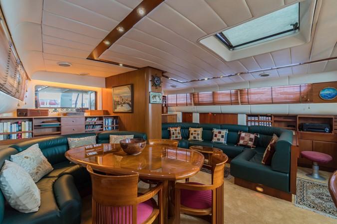 Maxi 88 Taronga dining 1991 CIM SHIPYARD  Cruising Sailboat 1963776