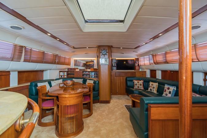 Maxi 88 Taronga salon 1991 CIM SHIPYARD  Cruising Sailboat 1963778