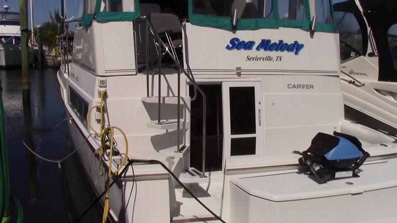 1996 CARVER 400 Cockpit Motoryacht Motor Yacht 2067194