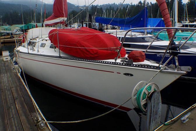 """Prelude"" 1977 CALGAN MARINE  Aft Cockpit 1975137"