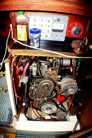 Engine box 1977 CALGAN MARINE  Aft Cockpit 1975183