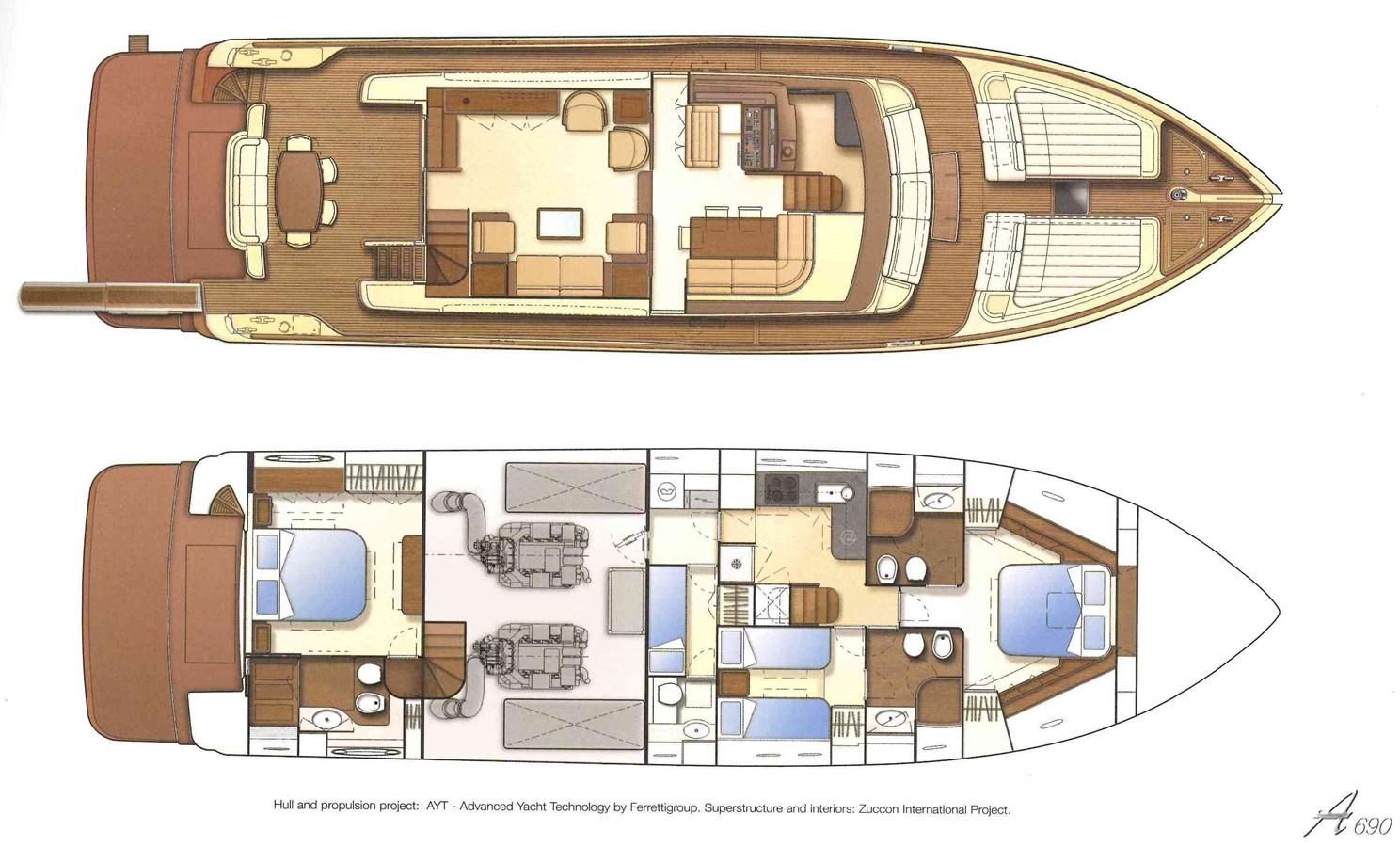 2008 FERRETTI YACHTS  Cruiser 1980724