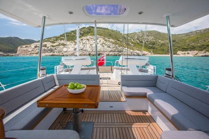 Vayu Cockpit aft  2017 VAN DAM SHIPYARD Nordia 70' PC Performance Sailboat 2550410