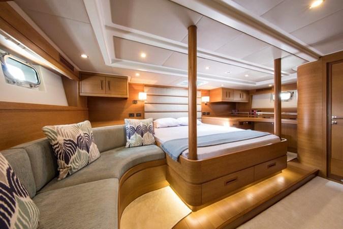 Vayu Master Cabin  2017 VAN DAM SHIPYARD Nordia 70' PC Performance Sailboat 2550418