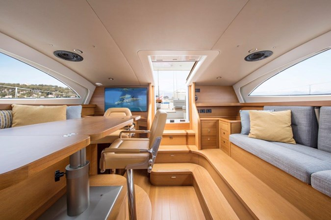 Vayu Saloon Aft  2017 VAN DAM SHIPYARD Nordia 70' PC Performance Sailboat 2550422