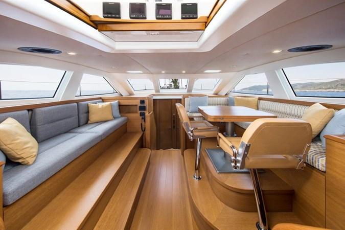 Vayu Saloon Fwd  2017 VAN DAM SHIPYARD Nordia 70' PC Performance Sailboat 2550423