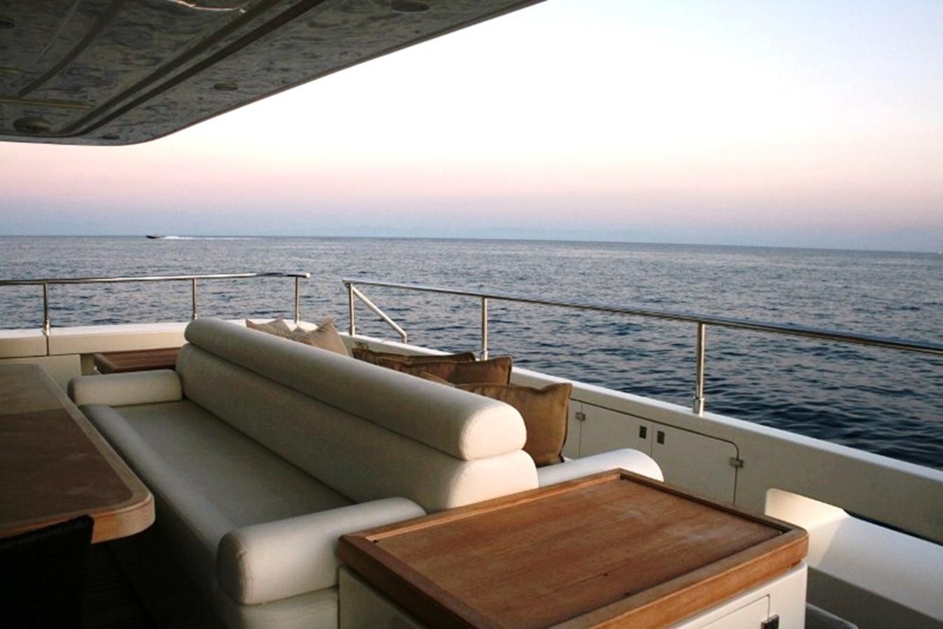aft deck 2009 FERRETTI YACHTS  Motor Yacht 1993337