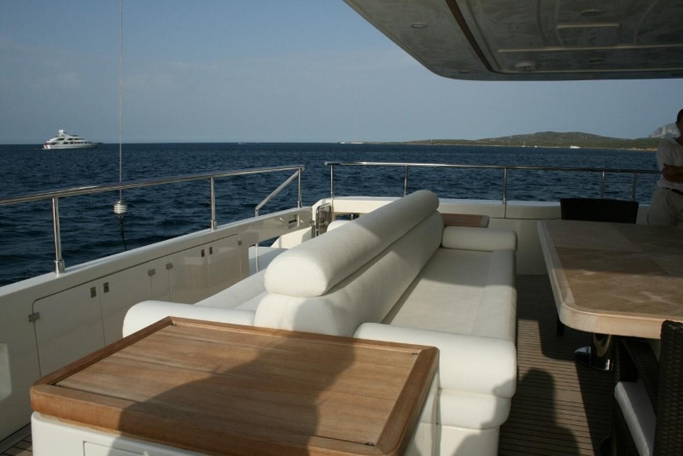 aft deck 2009 FERRETTI YACHTS  Motor Yacht 1993338