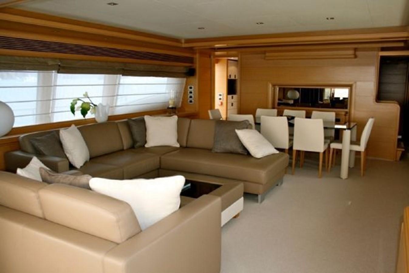 salon dining  2009 FERRETTI YACHTS  Motor Yacht 1993340