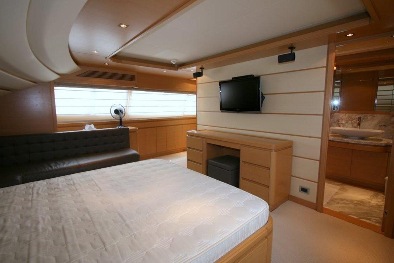 master cabin on main deck 2009 FERRETTI YACHTS  Motor Yacht 1993344