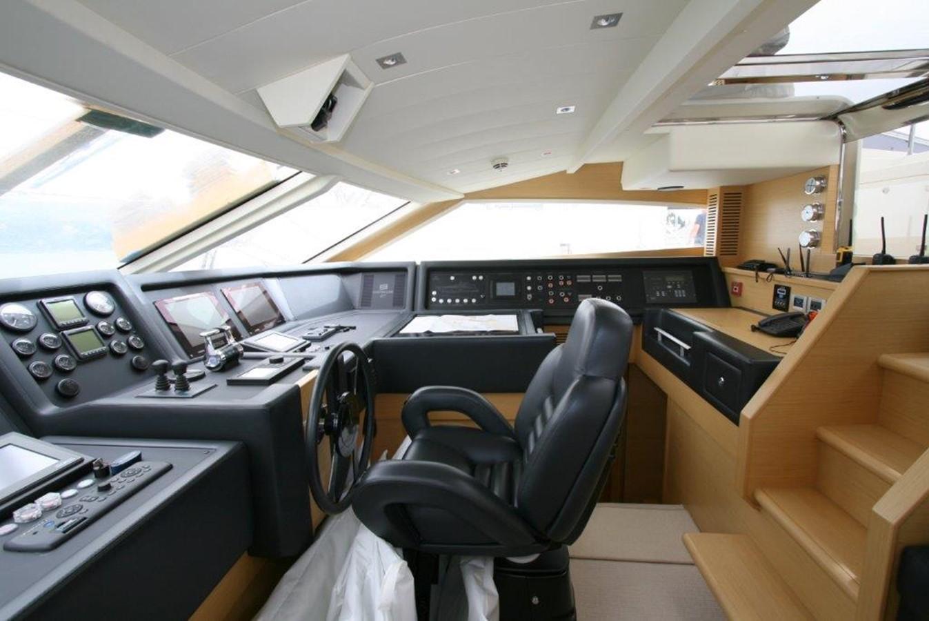 raised pilothouse 2009 FERRETTI YACHTS  Motor Yacht 1993345