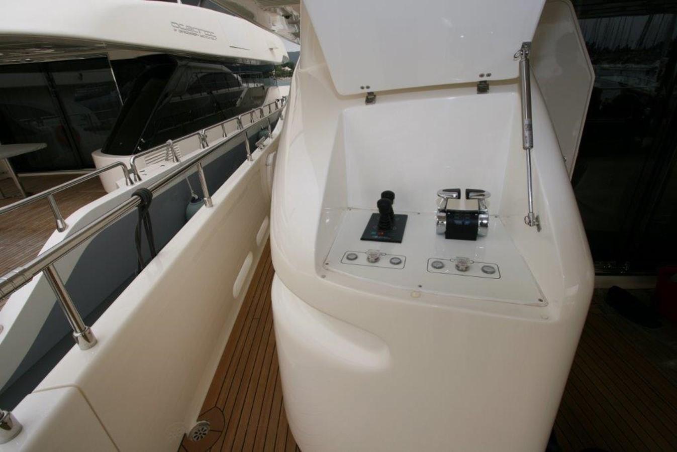 3rd engine control - bow stern thruster control 2009 FERRETTI YACHTS  Motor Yacht 1993348