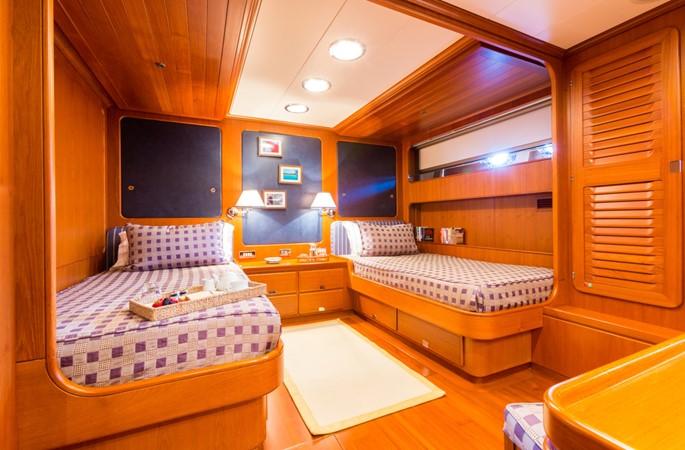 Twin Guest Stateroom 1991 PERINI NAVI Ketch Cruising Ketch 1994025