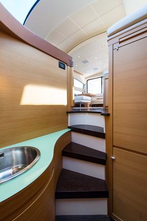Galley 2009 PERSHING 64 Motor Yacht 1997717