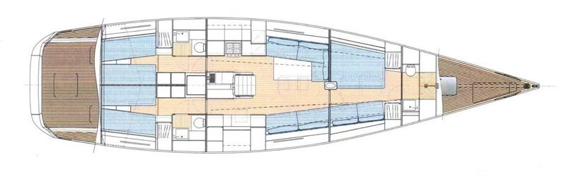 2010 NAUTOR'S SWAN  Cruising Sailboat 2012459