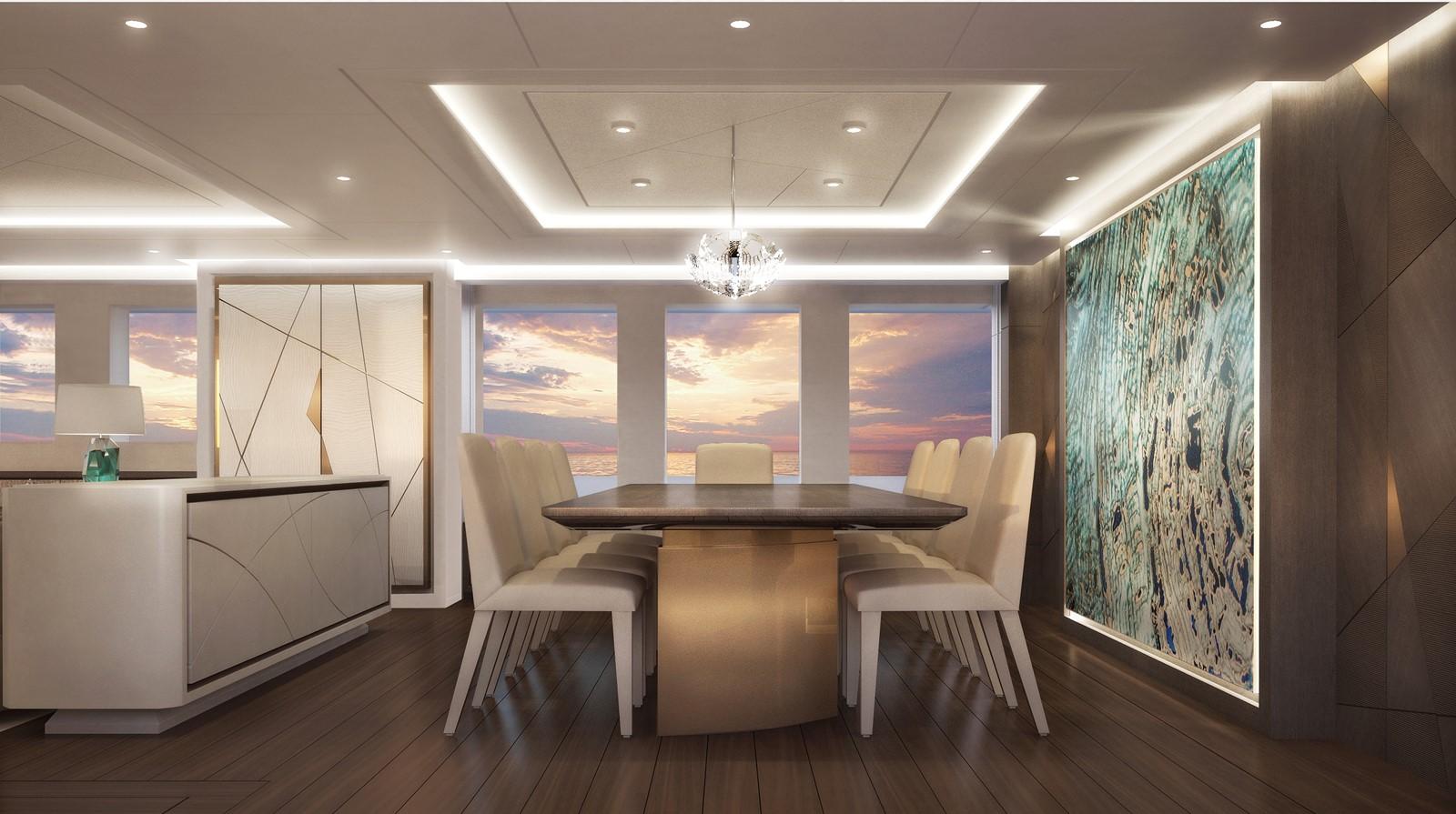 Main saloon dining 2020 HEESEN YACHTS  Motor Yacht 2470346