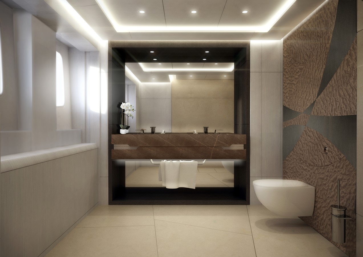 Guest bathroom 2020 HEESEN YACHTS  Motor Yacht 2470350