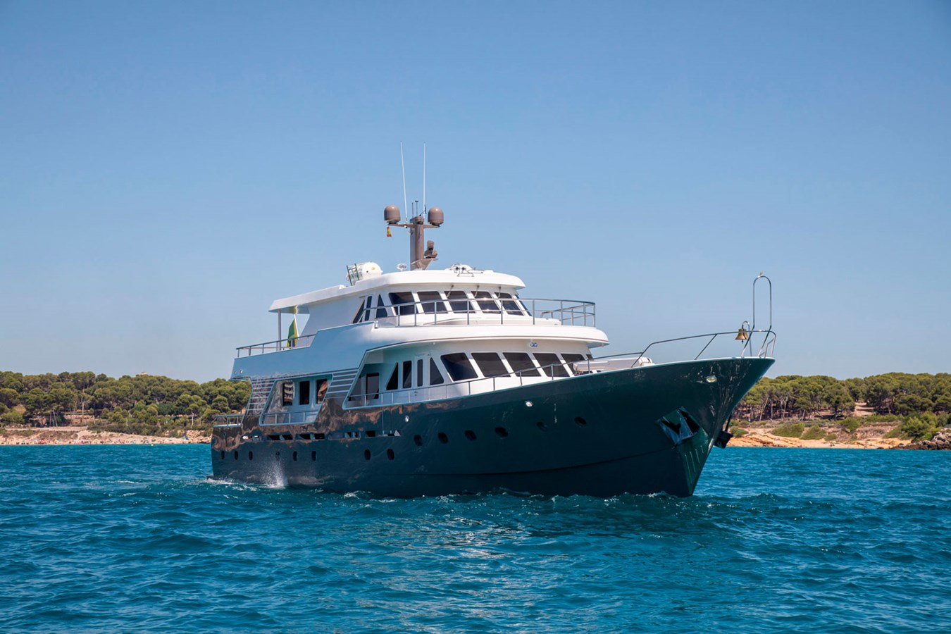 Witsen-and-vis-33m-Yacht-Bow-View 1971 Witsen & Vis  Motor Yacht 2680977