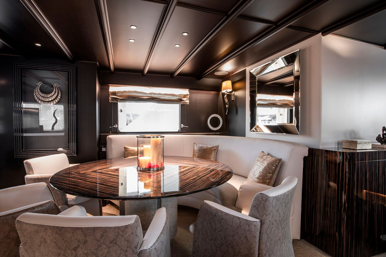 Witsen-and-vis-33m-Yacht-Dining-1 1971 Witsen & Vis  Motor Yacht 2680982