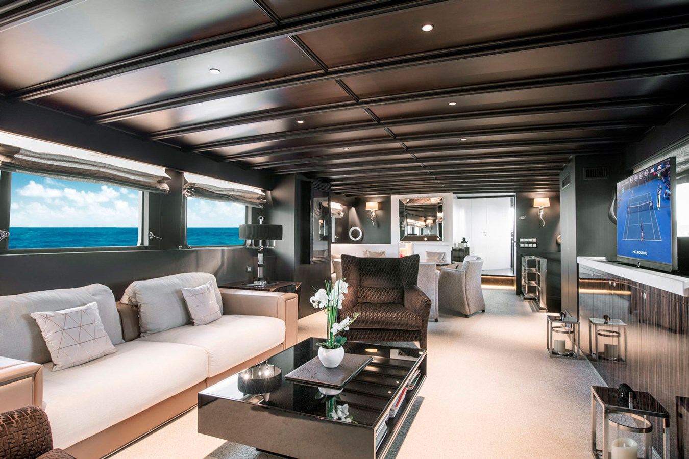 Witsen-and-vis-33m-Yacht-Salon-Front-View-1 1971 Witsen & Vis  Motor Yacht 2680993