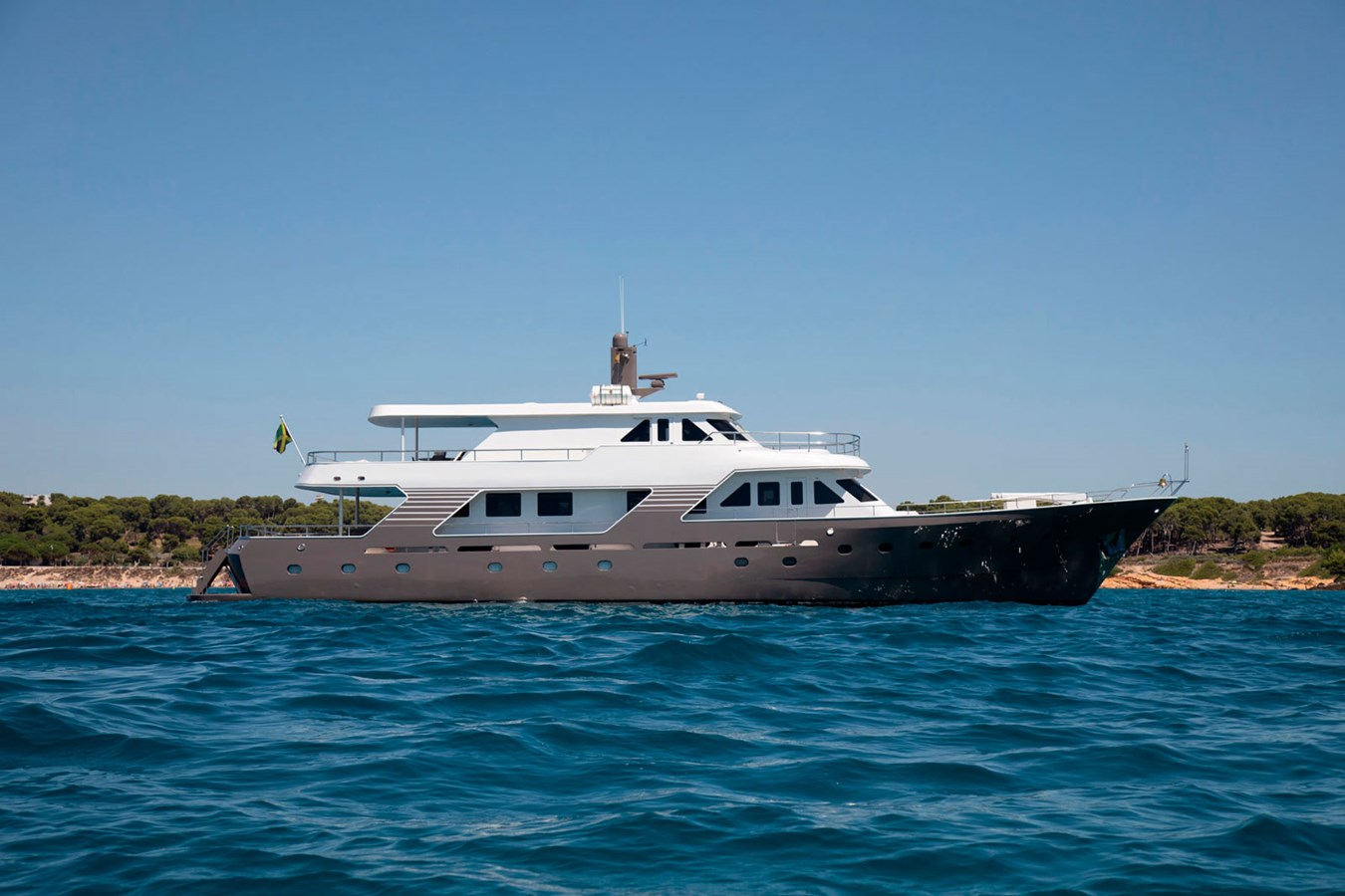 Witsen-and-vis-33m-Yacht-Side-Profile-2 1971 Witsen & Vis  Motor Yacht 2681027