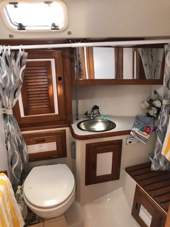 Head and Shower 1993 CATALINA 36 Cruising Sailboat 2038720