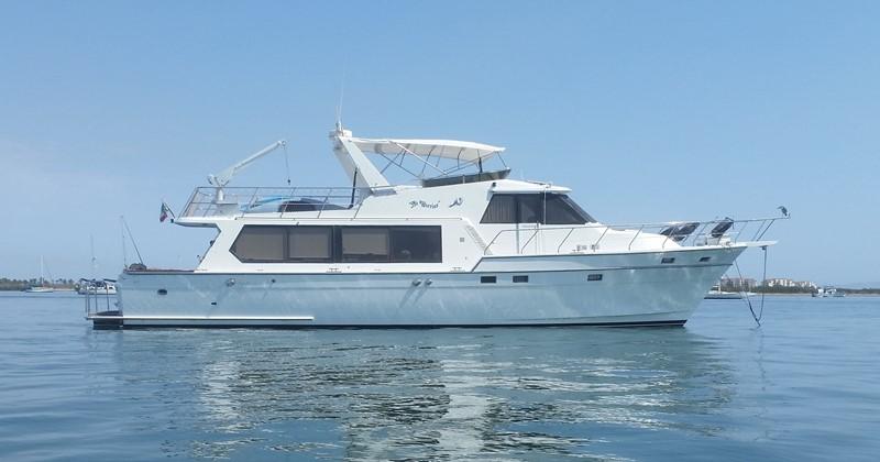 NO WORRIES 1990 ANGEL MARINE Pilothouse Motoryacht Motor Yacht MLS #245942    YATCO MLS - Yacht Sales