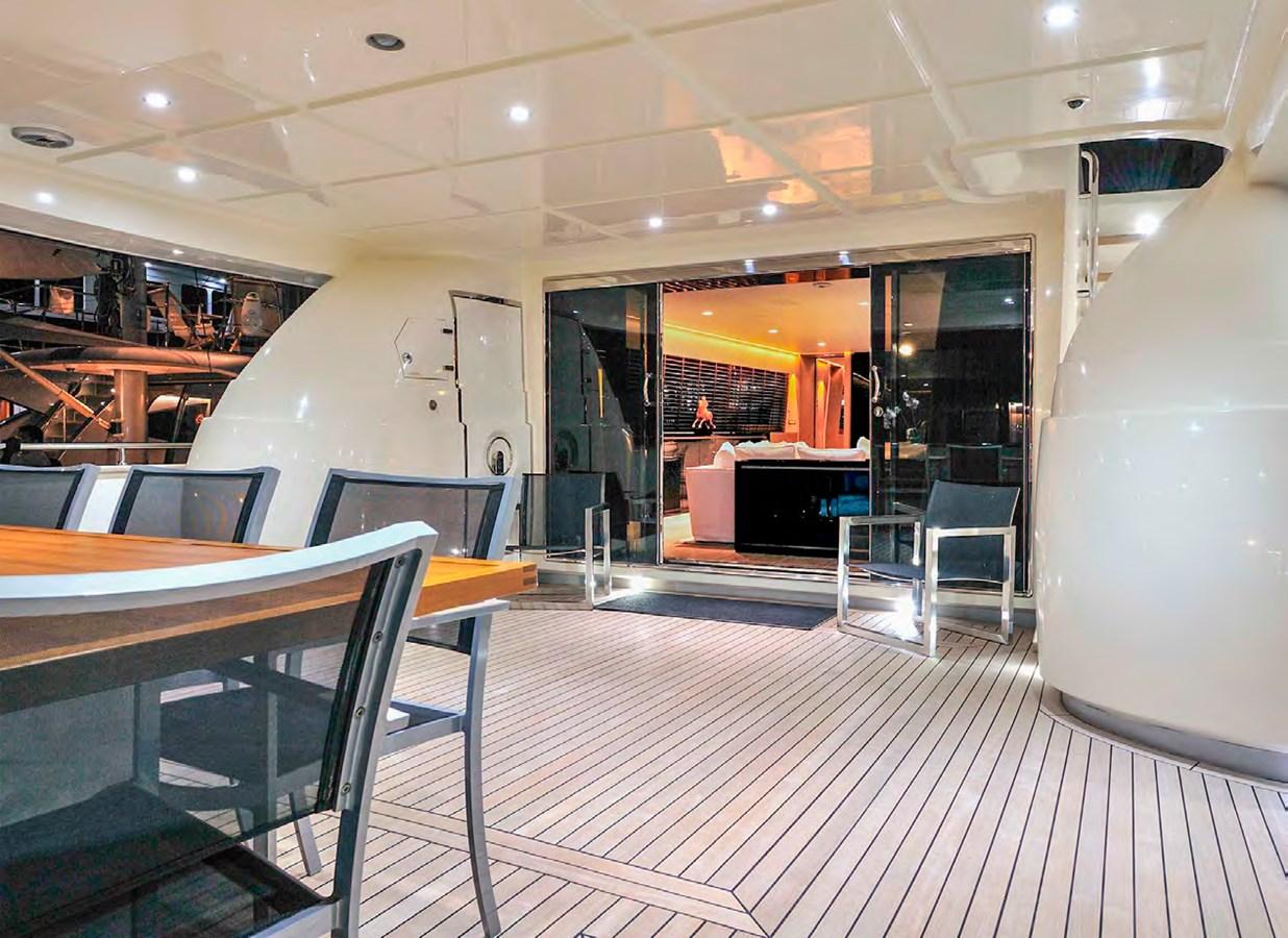 Bertona-Canados-116-Motor-Yacht-Aft-Deck 2011 CANADOS 116 Motor Yacht 2791444