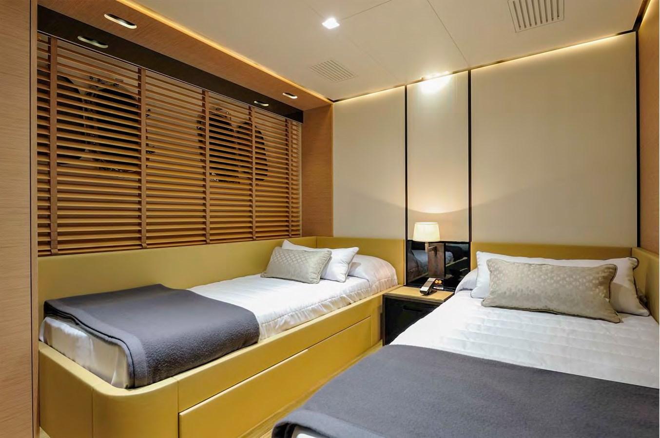 Bertona-Canados-116-Motor-Yacht-Guest-Cabin-1 2011 CANADOS 116 Motor Yacht 2791455