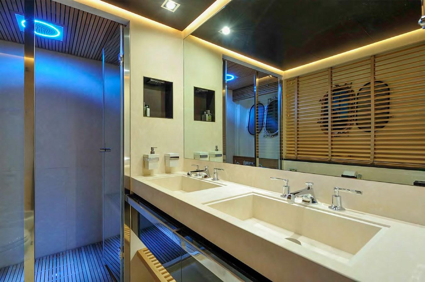 Bertona-Canados-116-Motor-Yacht-Master-Bathroom 2011 CANADOS 116 Motor Yacht 2791460