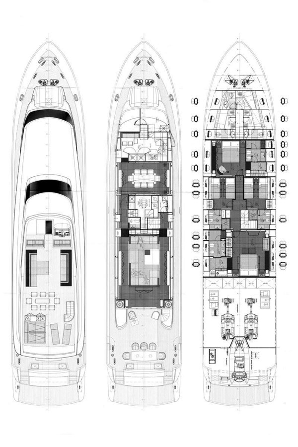 Bertona-Canados-116-Motor-Yacht-Layout 2011 CANADOS 116 Motor Yacht 2791470