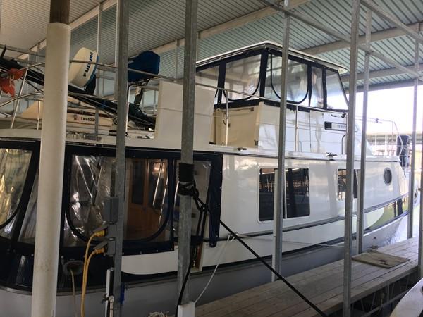 1988 Krogen 36 3 Exterior Aft Starboard View 1988 KADEY KROGEN 36 Manatee Tender 2062730