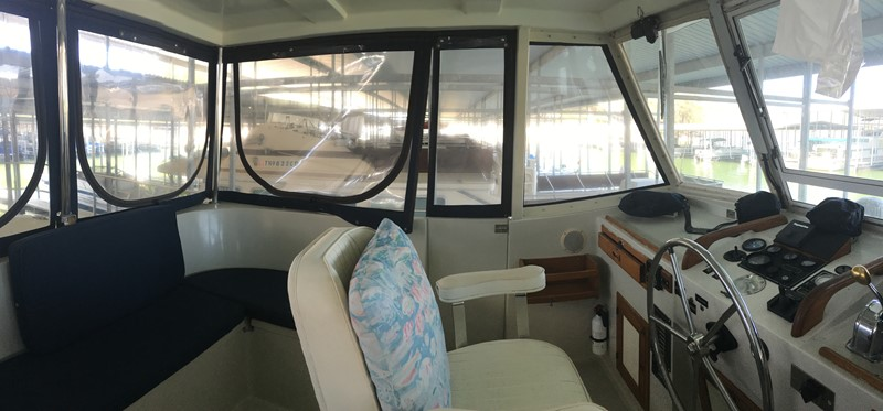 1988 Krogen 36 5 Pilothouse Entry view 1988 KADEY KROGEN 36 Manatee Tender 2062735