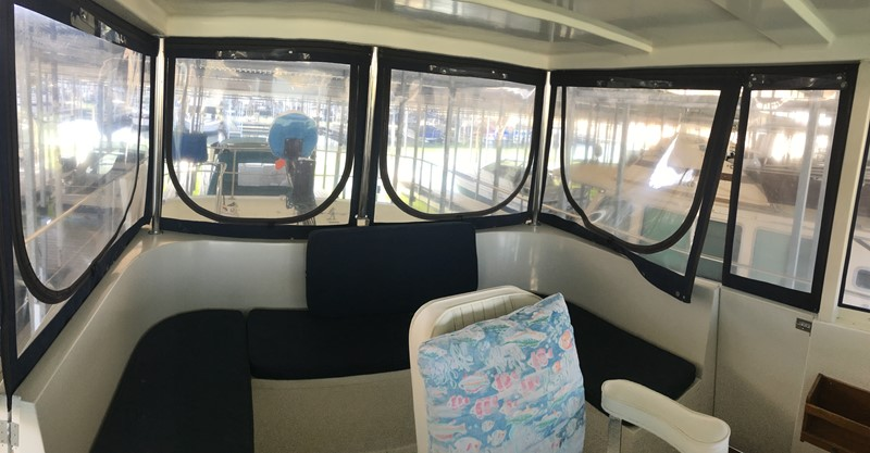 1988 Krogen 36 5 Pilothouse seating 1988 KADEY KROGEN 36 Manatee Tender 2062738